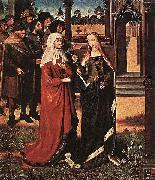 Master of the Legend of St. Lucy Scene from the St Lucy Legend oil painting