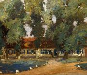 Max Uth Landsitz in der Mark oil painting