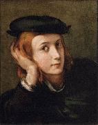 PARMIGIANINO Portrait of a Youth oil painting