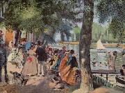 Pierre-Auguste Renoir La Grenouillere oil painting reproduction