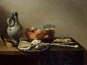 Pieter Claesz Tobacco Pipes and a Brazier oil painting