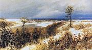 Polenov, Vasily Early Snow oil painting reproduction