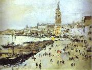 Valentin Serov Seaside in Venice. Study oil painting reproduction