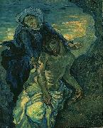 Vincent Van Gogh Pieta oil painting reproduction