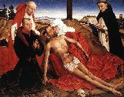 WEYDEN, Rogier van der Pieta oil painting reproduction