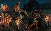 William Holman Hunt The Triumph of the Innocents oil painting