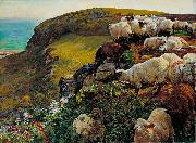 William Holman Hunt Our English Coasts oil painting