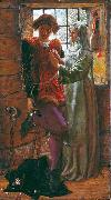 William Holman Hunt Claudio and Isabella oil painting