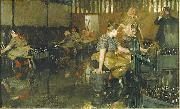 Anders Zorn The Little Brewery oil painting reproduction
