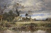 Benjamin Williams Leader A gleam before the storm oil painting