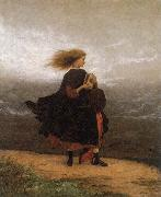 Eastman Johnson The Girl I left behind me oil painting