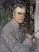 Edward Arthur Walton Self portrait oil painting