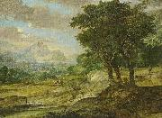 Eglon van der Neer Gebirgslandschaft oil painting reproduction