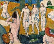 Emile Bernard Baigneuses oil painting reproduction