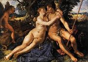 Hendrick Goltzius Venus and Adonis oil painting reproduction