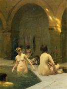 Jean Leon Gerome Ferris Baigneuses oil painting reproduction