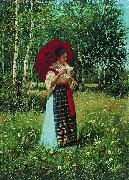 Nikolay Bogdanov-Belsky In reading the letter oil painting
