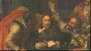 Paul Delaroche Charles I Insulted by Cromwell s Soldiers oil painting