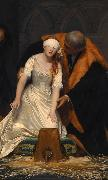 Paul Delaroche The Execution of Lady Jane Grey oil painting