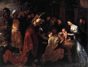 Peter Paul Rubens Adoration of the Magi oil painting reproduction