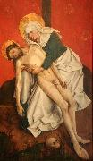 Rogier van der Weyden Pieta oil painting reproduction