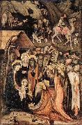 Stefano da Verona Adoration of the Magi oil painting reproduction