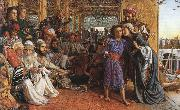 William Holman Hunt The Finding of the Saviour in the Temple oil painting