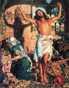 William Holman Hunt The Shadow of Death oil painting
