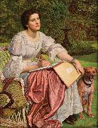 William Holman Hunt The School of Nature oil painting