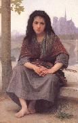 William-Adolphe Bouguereau The Bohemian oil painting reproduction