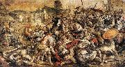 unknow artist The Battle of the Ticino oil painting reproduction