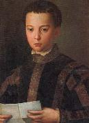 Agnolo Bronzino Portrait of Francesco I as a Young Man oil painting