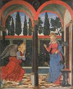Alessio Baldovinetti The Annunciation oil painting
