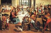 Andrea Boscoli The Marriage at Cana oil painting reproduction