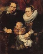 Anthony Van Dyck Family Portrait oil painting