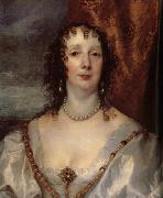 Anthony Van Dyck Details of Anna Dalkeith,Countess of Morton, and Lady Anna Kirk oil painting