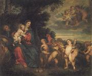 Anthony Van Dyck The Rest on the Flight into Egypt oil painting