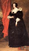 Anthony Van Dyck Portrait of Marguerite of Lorraine,Duchess of Orleans oil painting