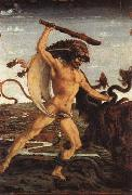 Antonio Pollaiolo Hercules and the Hydra oil painting