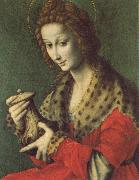 Bachiacca Mary Magdalen oil painting