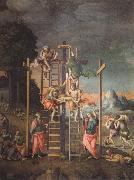Bachiacca The Depositon from the Cross oil painting