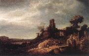 FLINCK, Govert Teunisz. Landscape oil painting