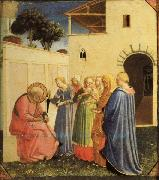 Fra Angelico The Naming of the Baptist oil painting