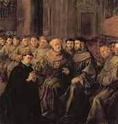 Francisco de herrera the elder St.Bonaventure Receiving the Habit of St.Francis oil painting
