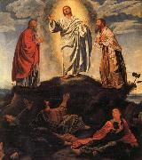 Giovanni Gerolamo Savoldo The Transfiguration oil painting