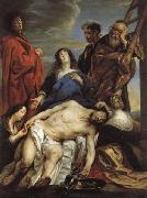 Jacob Jordaens Pieta oil painting reproduction