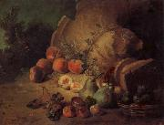 Jean Baptiste Oudry Still Life with Fruit oil painting