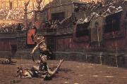 Jean-Leon Gerome Pollice Verso oil painting