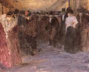 Jean-Louis Forain Music Hall oil painting