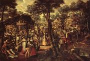 Joachim Beuckelaer A Village Celebration oil painting